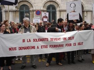 8 avril : les délinquantEs de la solidarité à Valence