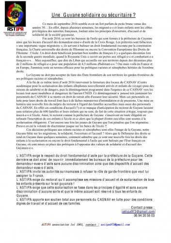 CP ASTIPA sur les problèmes asile et CASNAV en Guyane septembre 2016.jpg